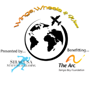 Wings Wheels and Wine Logo